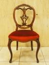 アンティーク家具 アンティーク チェア 椅子 ヴィクトリアンチェア バルーンバック ウォルナット ツインアンティークス