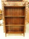 アンティーク家具 アンティーク ブックケース オープンブックケース 収納 棚 ツインアンティークス