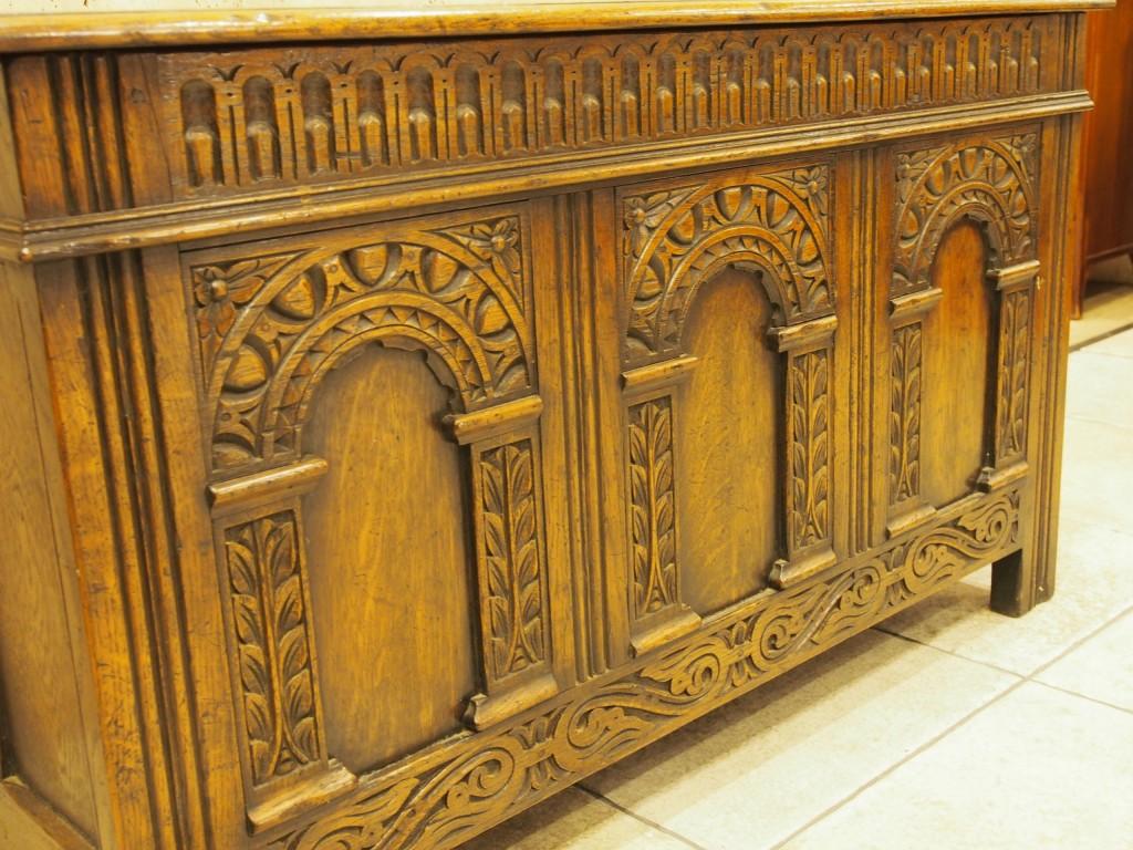 アンティーク家具 アンティーク コファー ボックス リネン収納 ベッドサイド 収納 ツインアンティークス