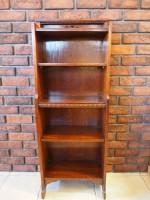 アンティーク家具 アンティーク ブックケース オープンブックケース ブックシェルフ 本棚 ツインアンティークス