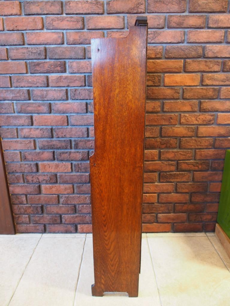 アンティーク家具 アンティーク ブックケース オープンブックケース ブックシェルフ 本棚 ディスプレイ ツインアンティークス