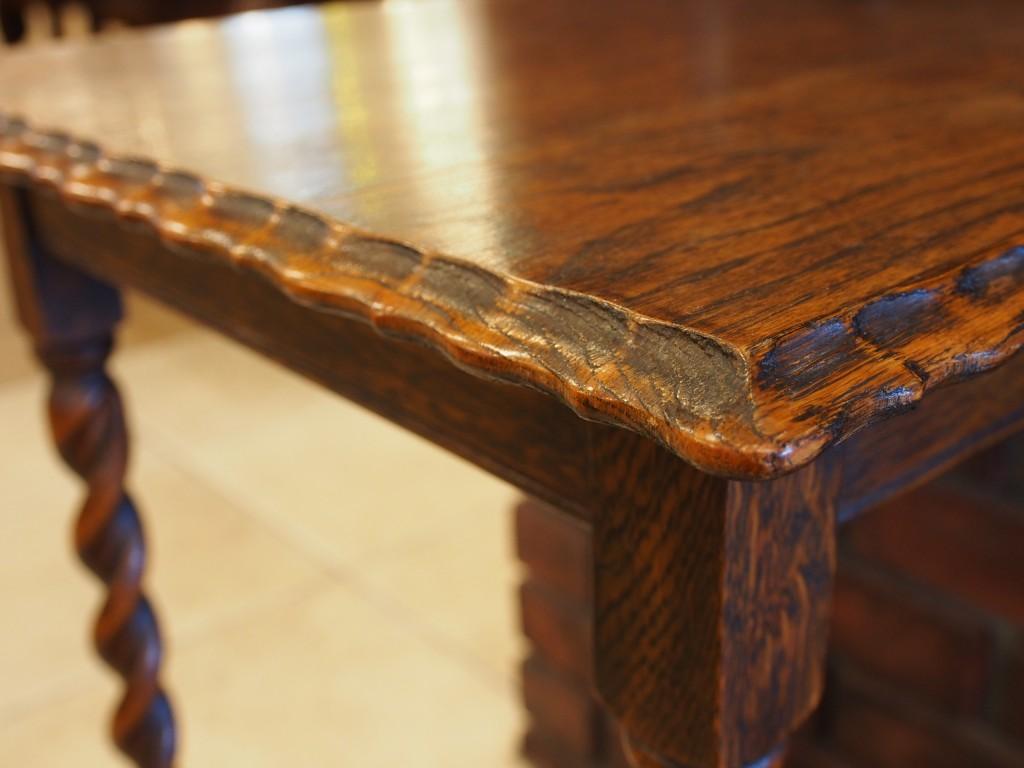 アンティーク家具 アンティーク オケージョナルテーブル サイドテーブル ミニテーブル 花台 玄関 ツインアンティークス