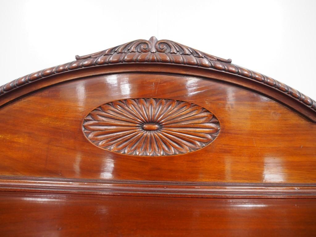 アンティーク家具 アンティーク サイドボード マホガニー チッペンデール 収納 ツインアンティークス