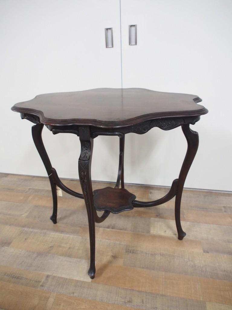 アンティーク家具 アンティーク ウィンドウテーブル ティーテーブル サイドテーブル オケージョナルテーブル