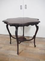 アンティーク家具 アンティーク ウィンドウテーブル ティーテーブル マホガニー ツインアンティークス