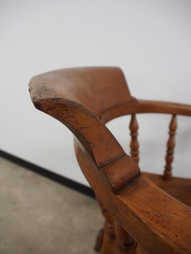 アンティーク家具 アンティーク キャプテンチェア スモーカーズチェア アームチェア 椅子 イス ツインアンティークス