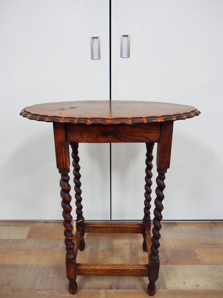 アンティーク家具 アンティーク オケージョナルテーブル サイドテーブル ツインアンティークス