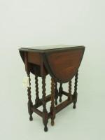 アンティーク家具 アンティーク ゲートレッグテーブル テーブル サイドテーブル ティーテーブル ミニテーブル ツインアンティークス