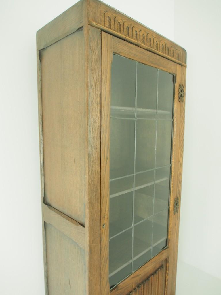 アンティーク家具 アンティーク ブックケース 食器棚 収納棚 ツインアンティークス