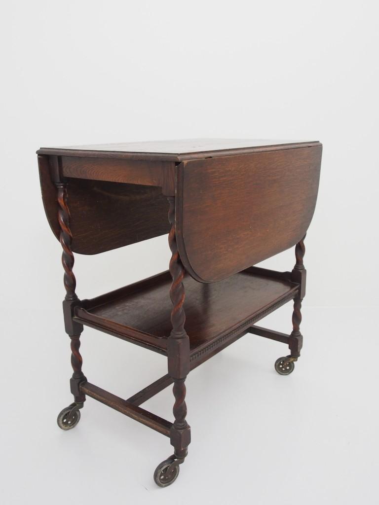 アンティーク家具 アンティーク ワゴン トローリー テーブル ツインアンティークス