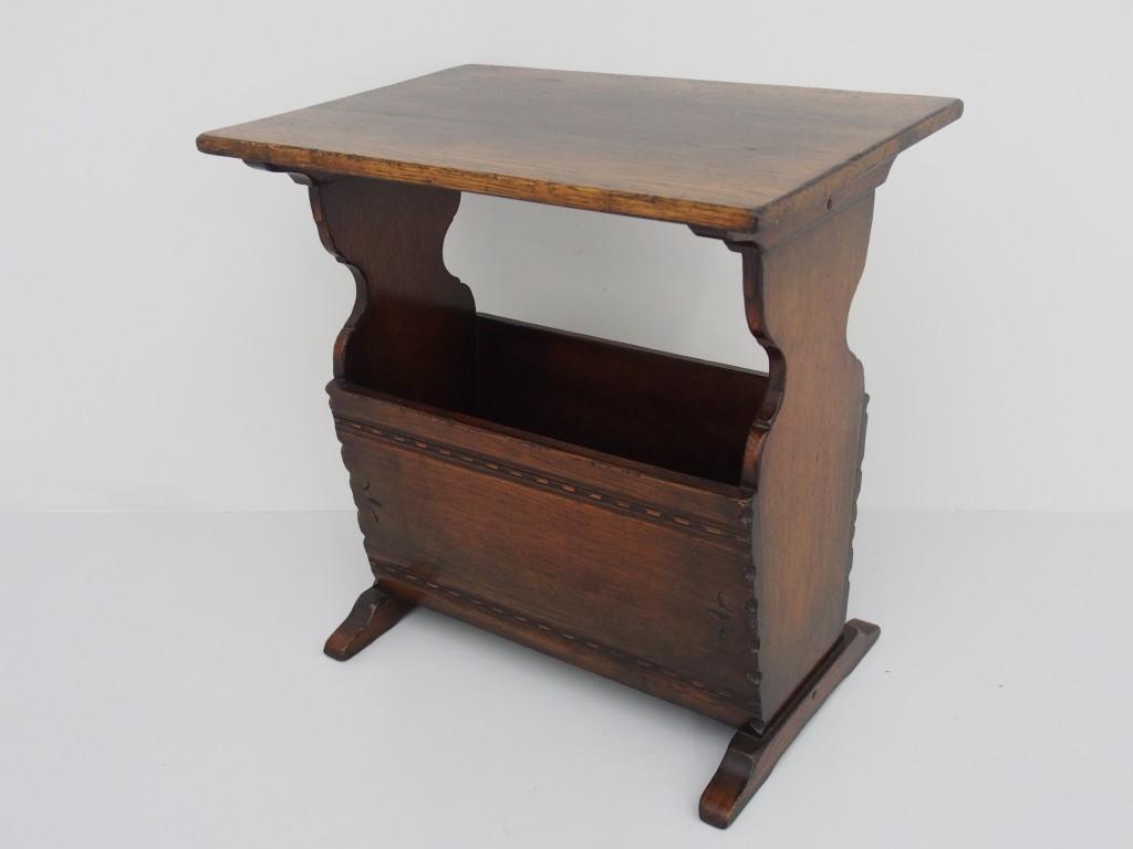 アンティーク家具 アンティーク マガジンラック コーヒーテーブル ミニテーブル ツインアンティークス
