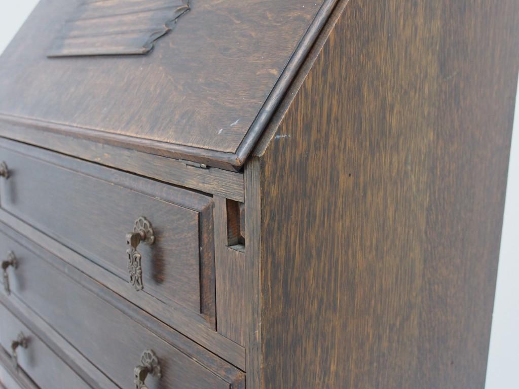 アンティーク家具 アンティーク ビューロー ライティングデスク デスク 机 収納 ツインアンティークス