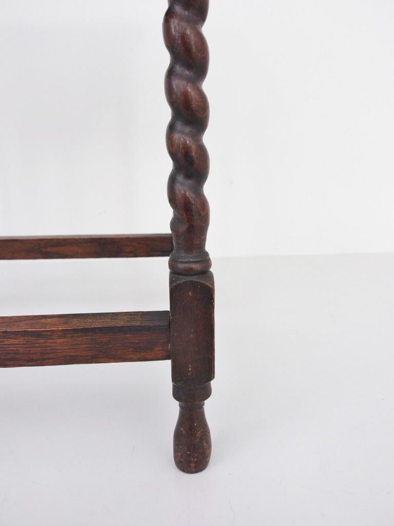 アンティーク家具 アンティーク オケージョナルテーブル サイドテーブル 花台 電話台 ツインアンティークス