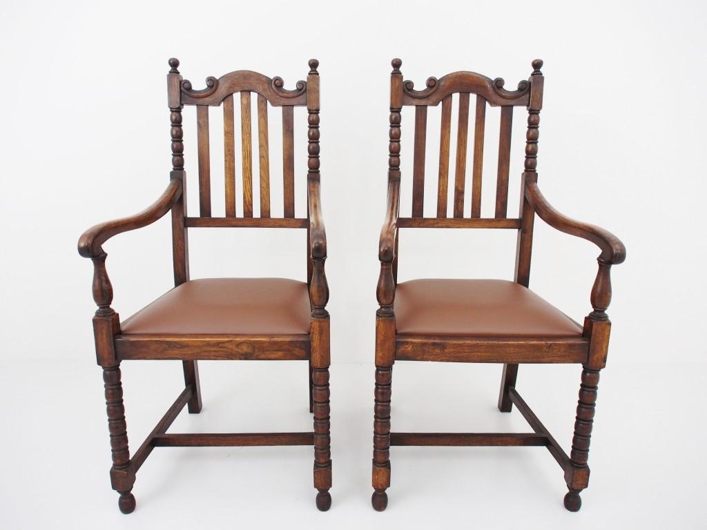 アンティーク家具 アンティーク ダイニングチェア アームチェア 椅子 チェア ツインアンティークス