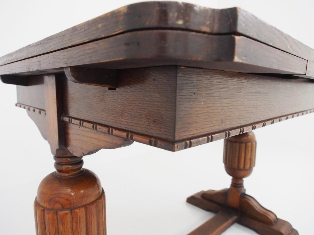 アンティーク家具 アンティーク ダイニングテーブル 食卓 テーブル ドローリーフテーブル エクステンションテーブル ツインアンティークス