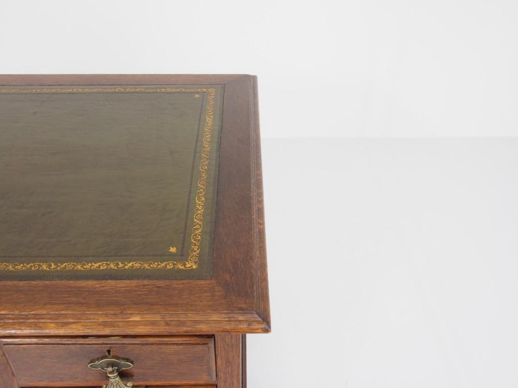 アンティーク家具 アンティーク デスク 机 什器 ベルフット ウィリアム&マリー ツインアンティークス