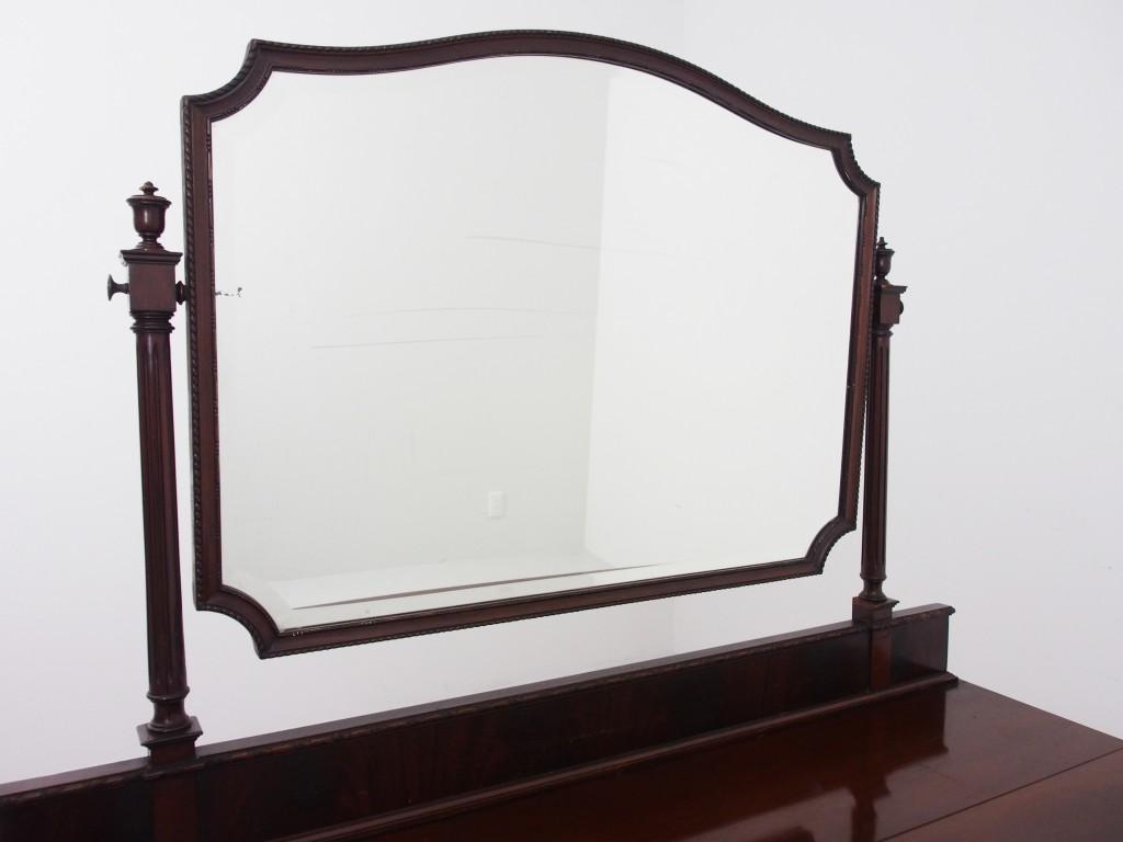 アンティーク家具 アンティーク ドレッサー ドレッシングテーブル 鏡台 マホガニー ツインアンティークス