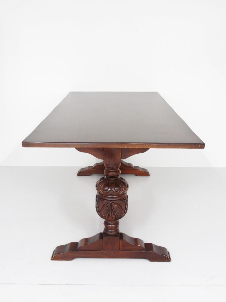 アンティーク家具 アンティーク リフェクトリーテーブル 長テーブル 食堂テーブル ダイニングテーブル 什器 ツインアンティークス