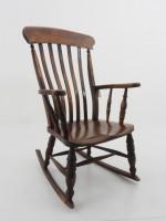 アンティーク家具 アンティーク ロッキングチェア 安楽椅子 イス チェア ツインアンティークス