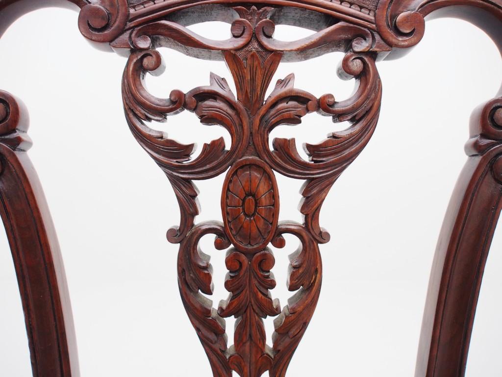 アンティーク家具 アンティーク ヴィクトリアンチェア アンティークチェア イス 椅子 チェア ツインアンティークス