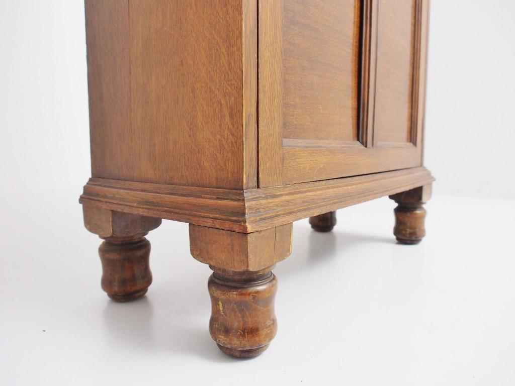 アンティーク家具 アンティーク ブックケース 本棚 収納 食器棚 ツインアンティークス