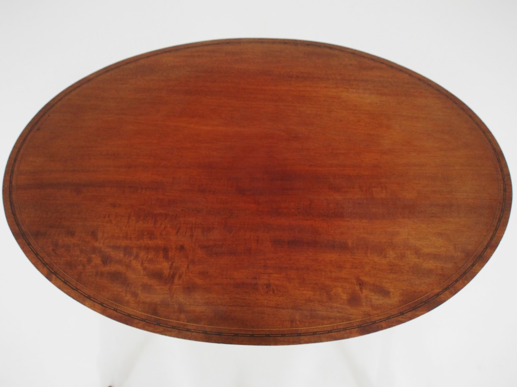 アンティーク家具 アンティーク オケージョナルテーブル サイドテーブル インレイド マホガニー ツインアンティークス