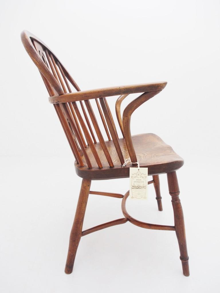 アンティーク家具 アンティーク ウィンザーチェア カントリーチェア アームチェア 肘掛け椅子 チェア イス 椅子 ツインアンティークス