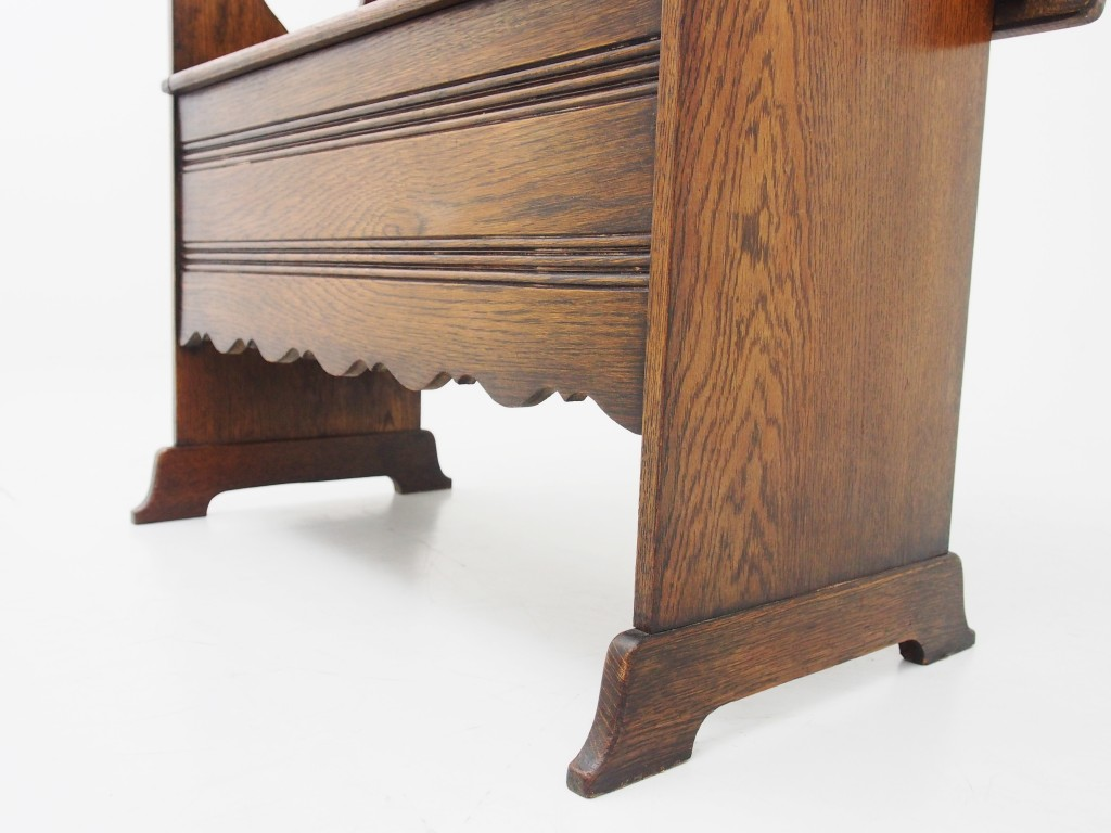 アンティーク家具 アンンティーク モンクスベンチ ベンチ テーブル 収納 ツインアンティークス