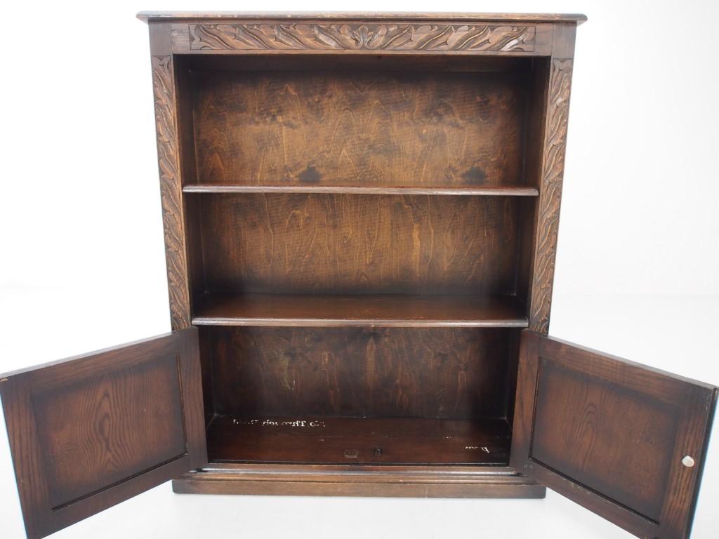 アンティーク家具 アンティーク ブックケース オープンブックケース ブックシェルフ 本棚 収納 ツインアンティークス