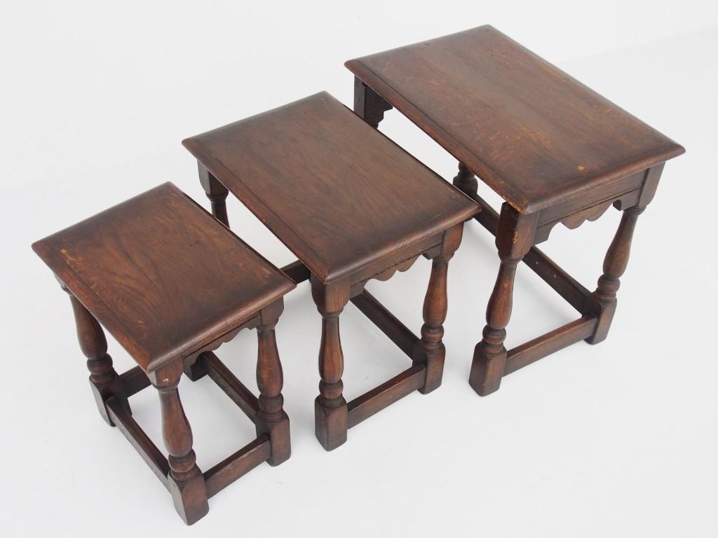 アンティーク家具 アンティーク ネストテーブル サイドテーブル テーブル ソファテーブル ツインアンティークス