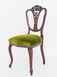 あんてぃーく家具 アンティーク ヴィクトリアンチェア チェア 椅子 マホガニー ツインアンティークス