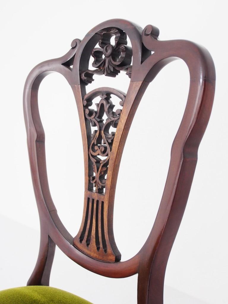 アンティーク家具 アンティーク ヴィクトリアンチェア チェア ヴィクトリアン 椅子 チェア マホガニー ツインアンティークス