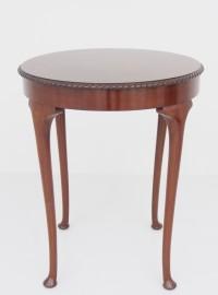 アンティーう家具 アンティーク ラウンドテーブル サイドテーブル オケージョナルテーブル マホガニー ツインアンティークス