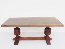アンティーク家具 アンティーク リフェクトリーテーブル テーブル ダイニングテーブル イプスウィッチオーク ロングテーブル ツインアンティークス