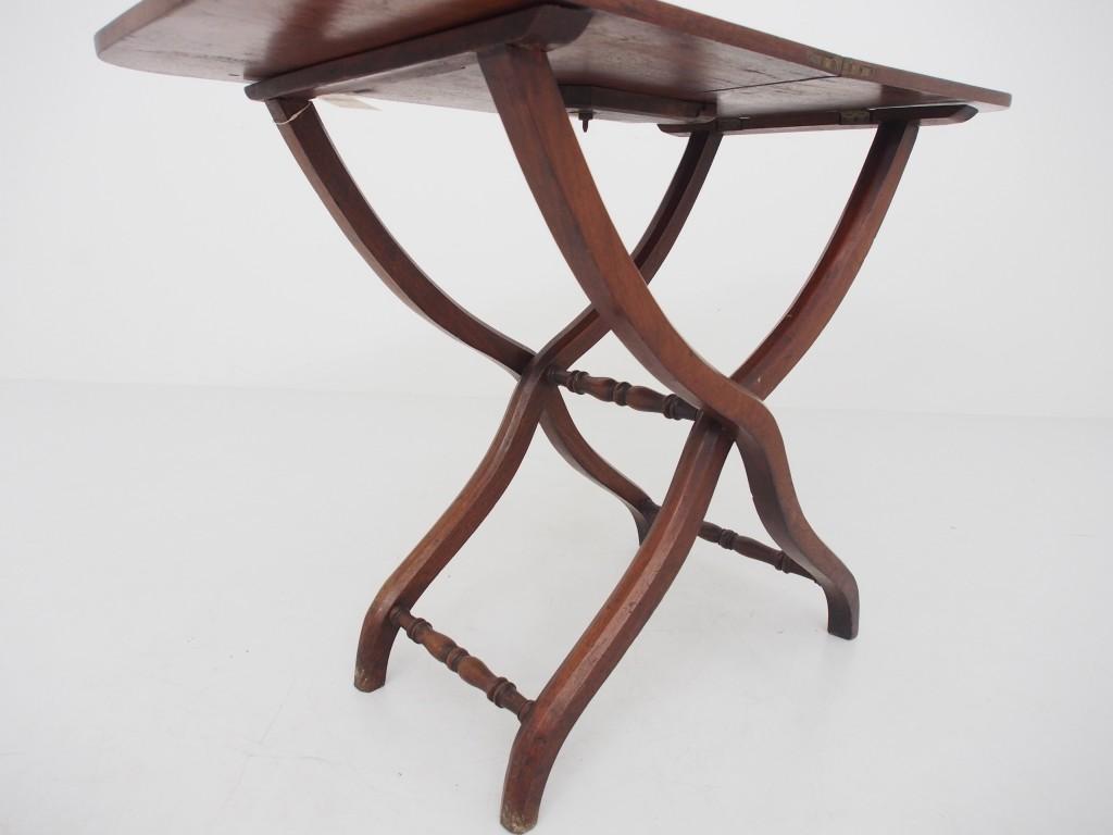 アンティーク家具 アンティーク コーチングテーブル 折りたたみテーブル テーブル サイドテーブル サブテーブル マホガニー ツインアンティークス