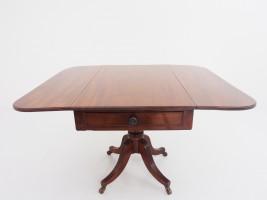 アンティーク家具 アンティーク ブレックファストテーブル ペンブロークテーブル テーブル ダイニングテーブル マホガニー ツインアンティークス