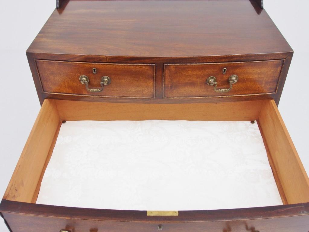下段引き出し内部 白い布は取り外すことが可能です。