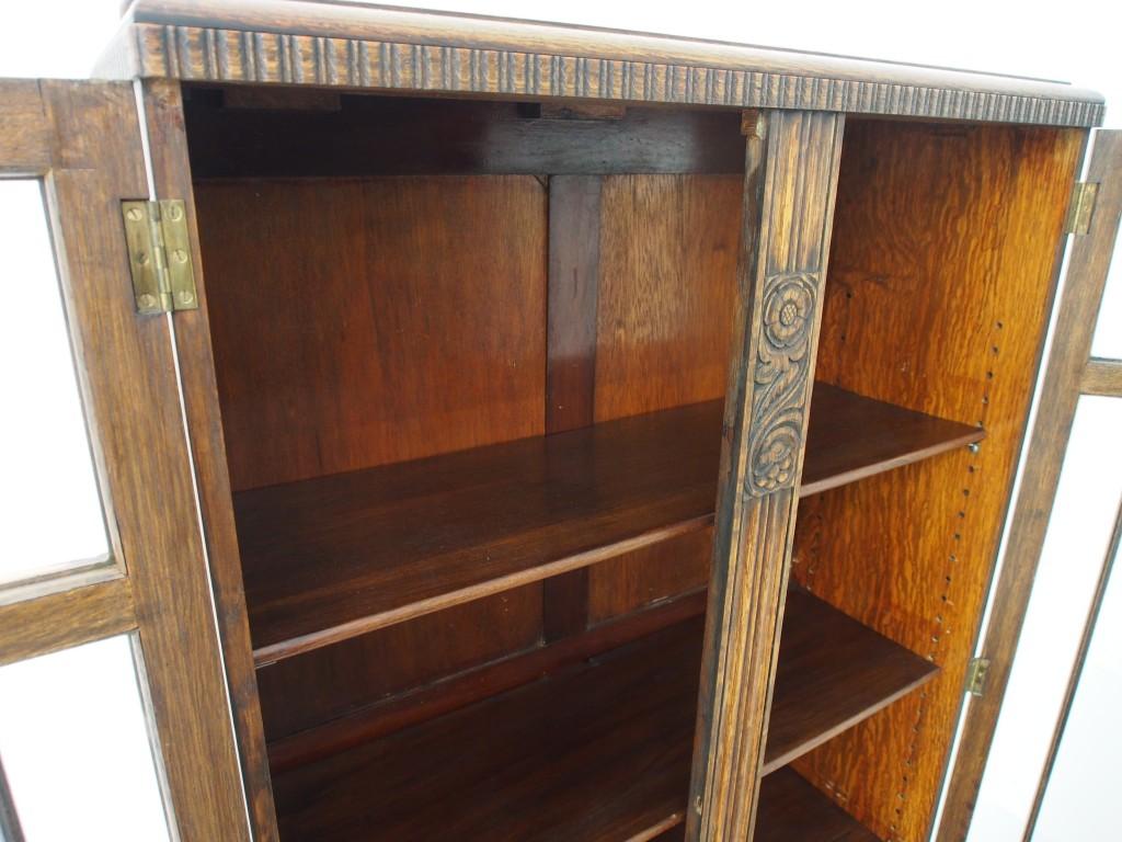 ブックケース庫内は個別に分かれておらず、一体化されています。