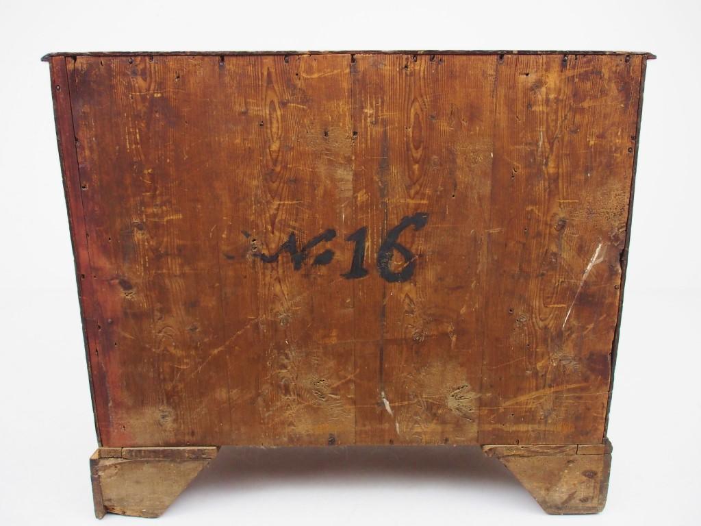 アンティーク家具 アンティーク チェスト オーク ジョージアン アーリーオーク 収納 引き出し ブラケットフット スワンネックハンドル ツインアンティークス