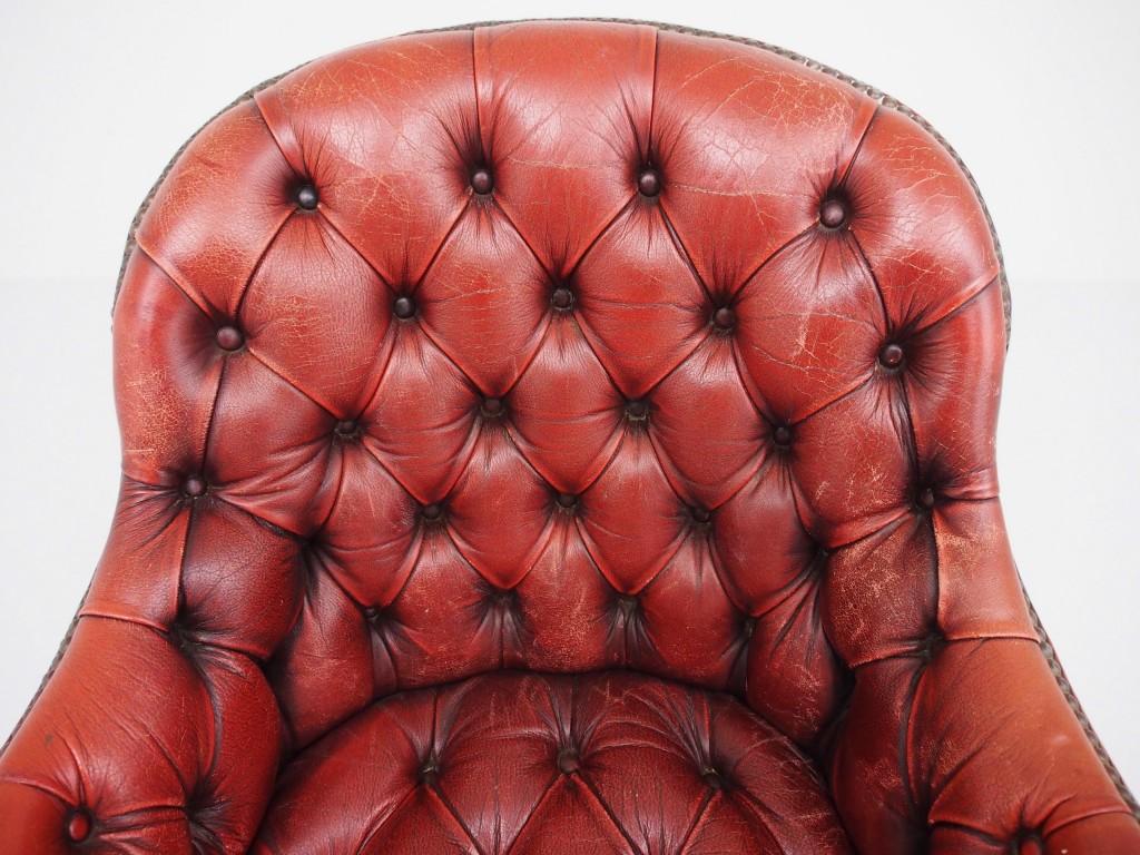 アンティーク家具 アンティーク レザーチェア デスクチェア イス 椅子 チェア ツインアンティークス