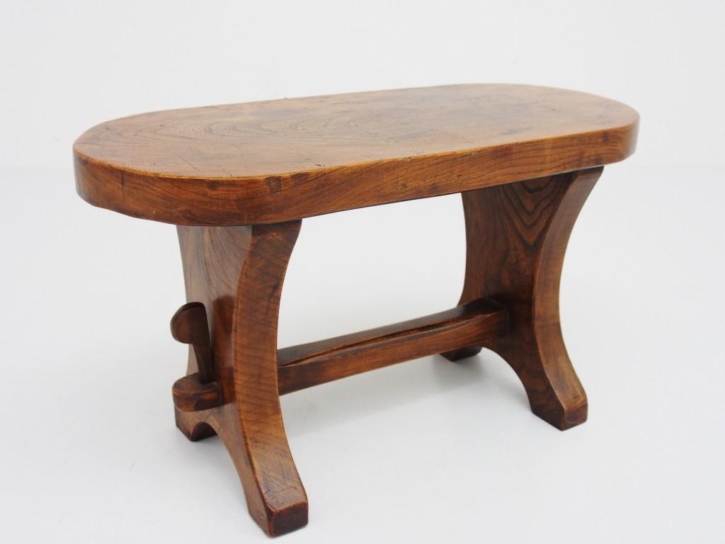 アンティーク家具 アンティーク スツール 椅子 腰掛け ガーデン エルム ニレ 楡 ツインアンティークス