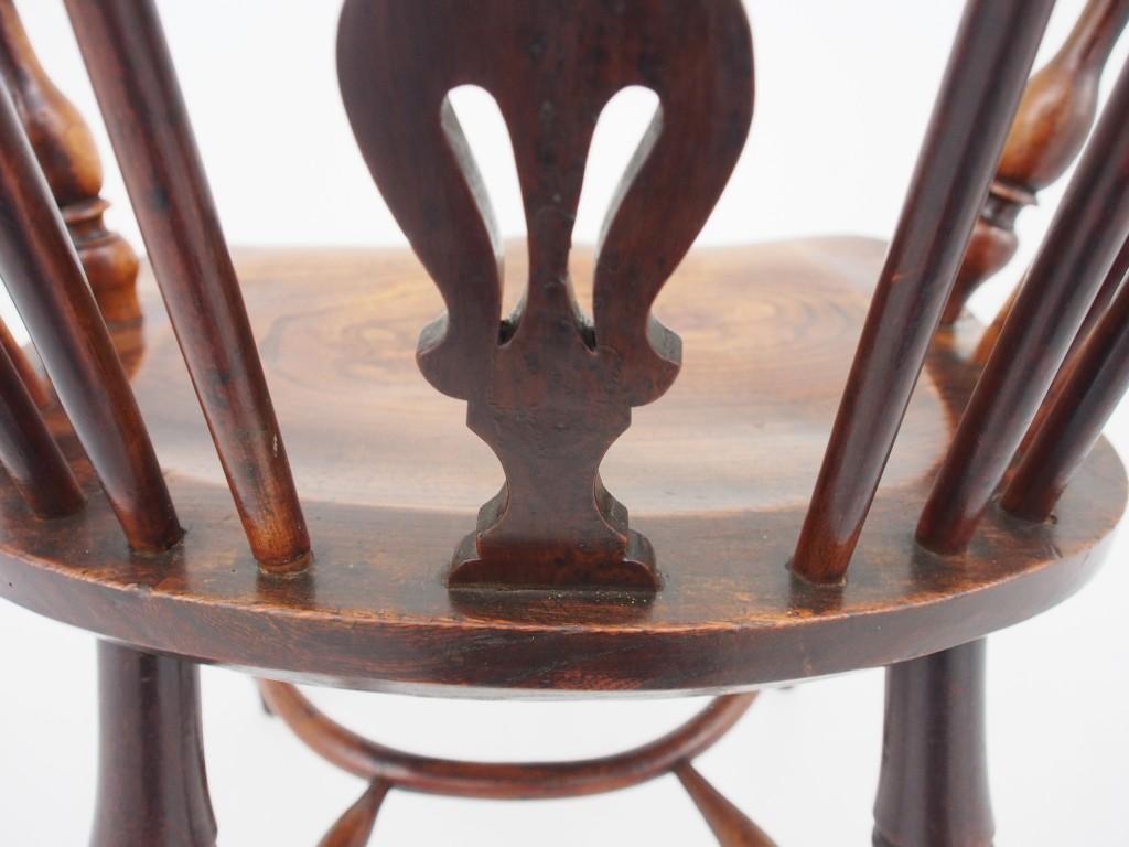 アンティーク家具 アンティーク ウィンザーチェア ユウ YEW イチイ ウィンザーアームチェア ボウバックチェア ウィンザーボウ ノッティンガム ツインアンティークス
