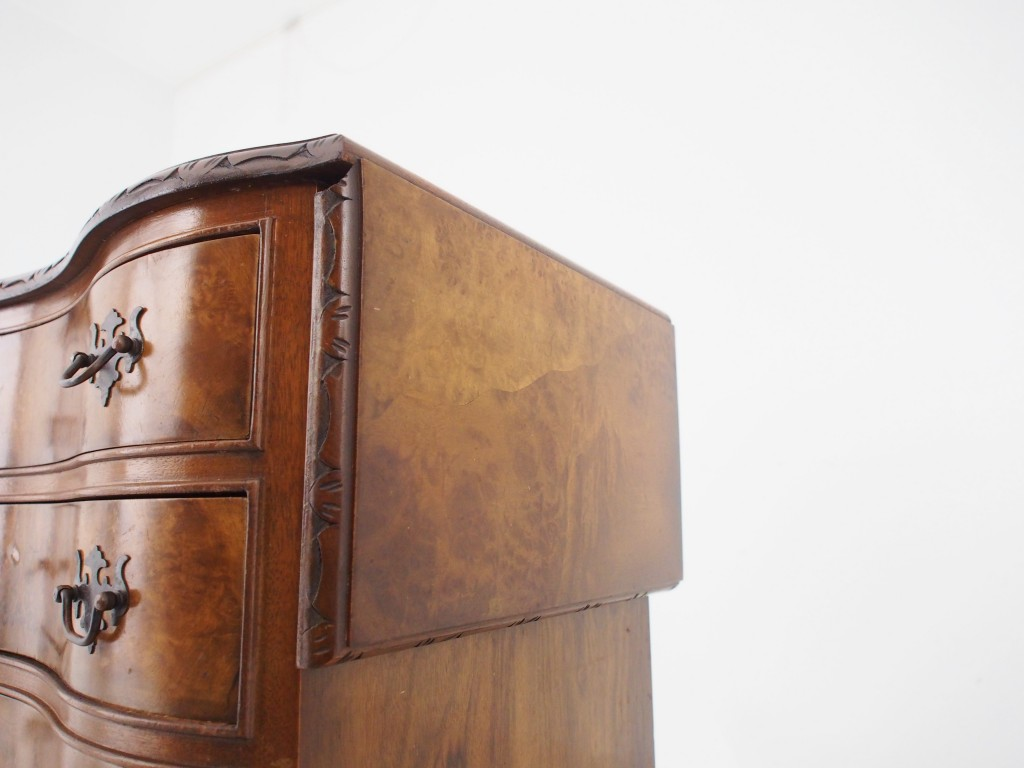 アンティーク家具 アンティーク スモールチェスト ウォルナット ミニチェスト チェスト サイドテーブル ベッドサイドテーブル ツインアンティークス