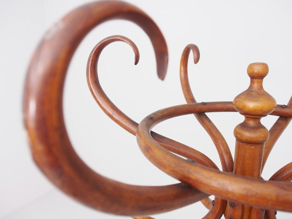 アンティーク家具 アンティーク ベントウッド ハットスタンド 曲げ木 コートフック コートラック コート掛け ツインアンティークス