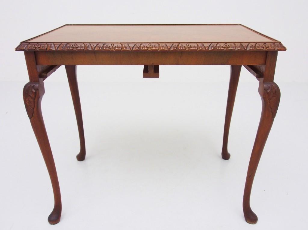 アンティーク家具 アンティーク ネストテーブル ウォルナット テーブル サイドテーブル コーヒーテーブル ソファテーブル ガラストップテーブル ツインアンティークス