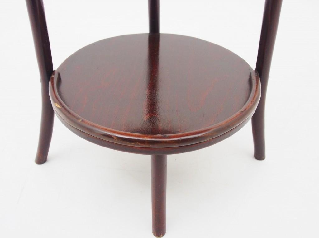 アンティーク家具 アンティーク ケーキスタンド 3タイヤ―テーブル ベントウッド 曲げ木 ディスプレイ 花台 小物置き ツインアンティークス