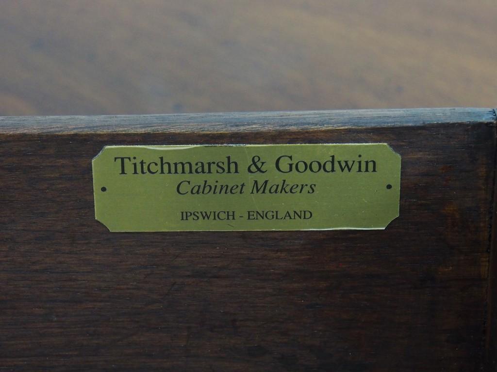 アンティーク家具 アンティーク イギリスアンティーク ドレッサー カップボード 食器棚 収納 イプスウィッチオーク ipswhich titchmarsh&goodwin ツインアンティークス
