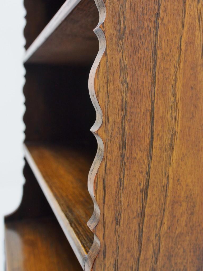 アンティーク家具 アンティーク イギリスアンティーク ブックシェルフ ブックケース オープンブックケース オープンブックシェルフ 本棚 収納 ツインアンティークス