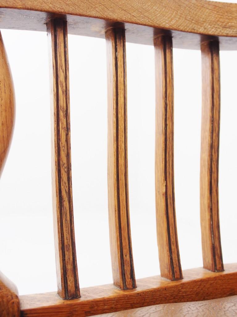 アンティーク家具 アンティーク デスクチェア スウィーベル 回転式チェア スモーカーズボウ ウィンザーチェア アームチェア ツインアンティークス