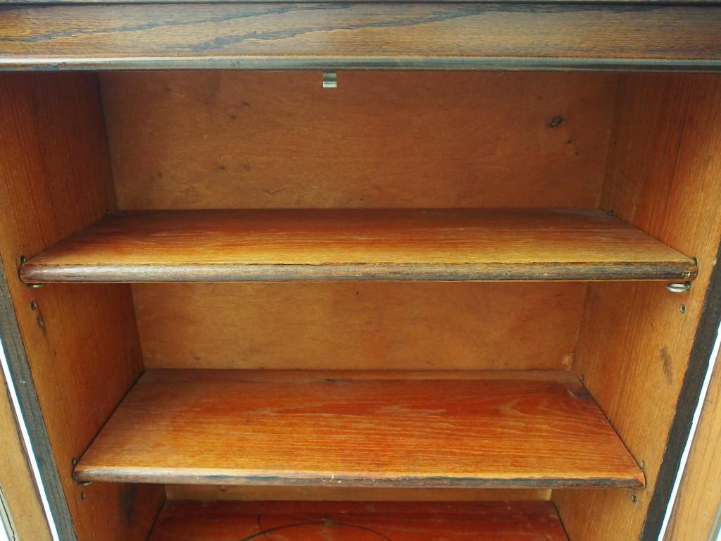 アンティーク家具 イギリスアンティーク アンティーク ブックケース 本棚 収納 食器棚 ツインアンティークス